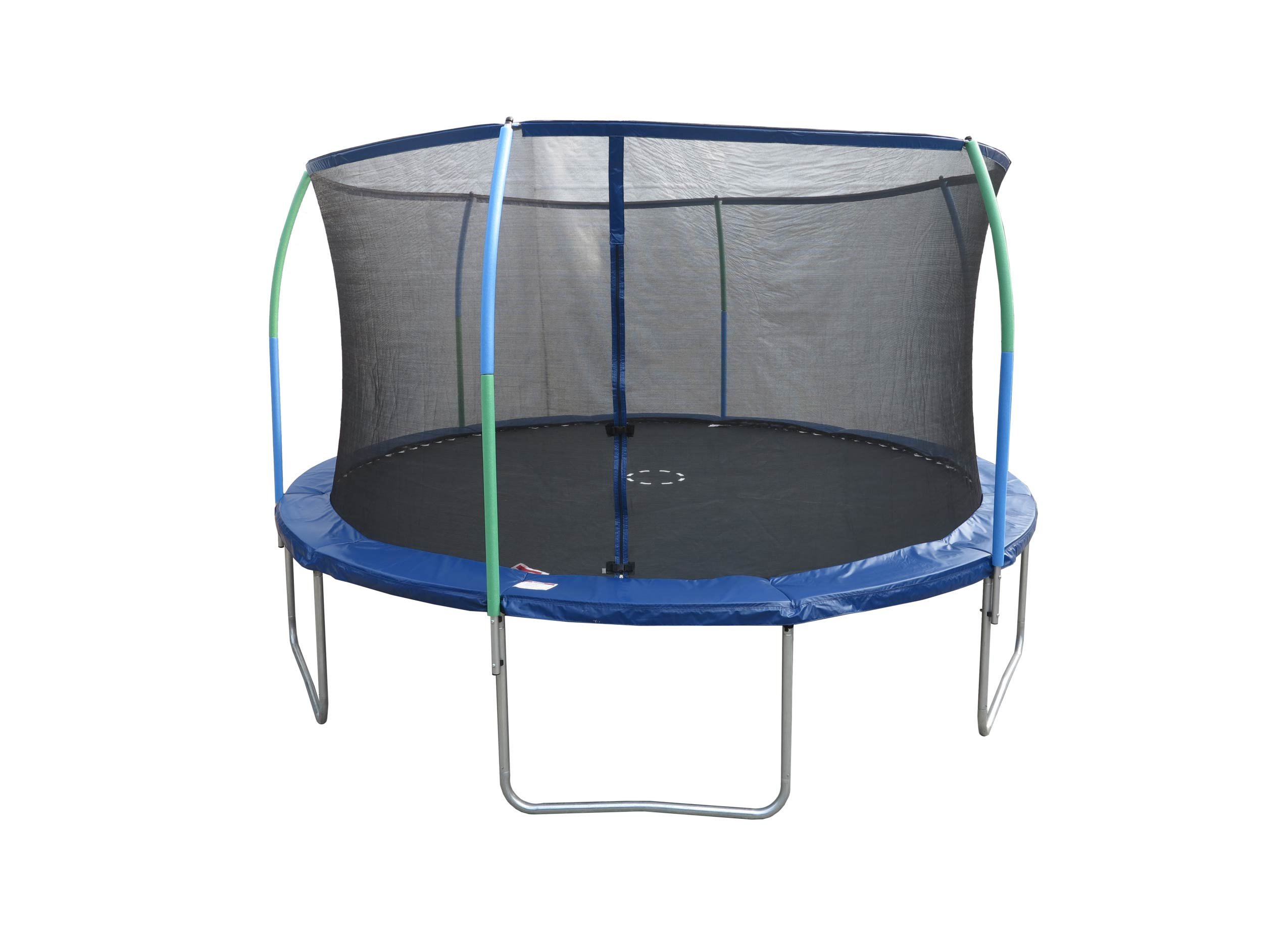 Trampoline with STEEL FLEX Safety Ring home