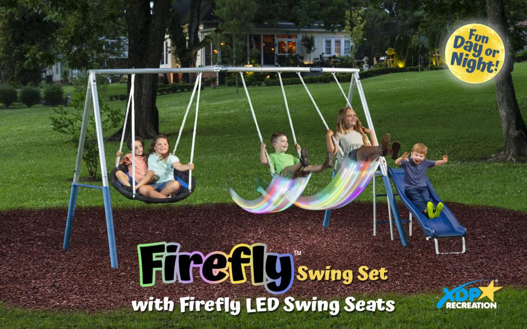 Firefly Swing Set